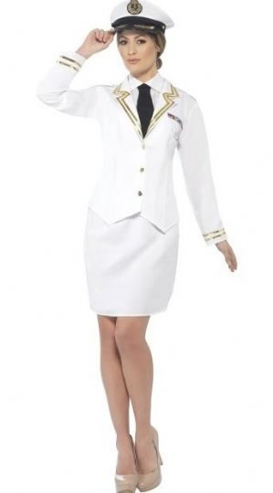 Lady Naval Officer Costume (44514)